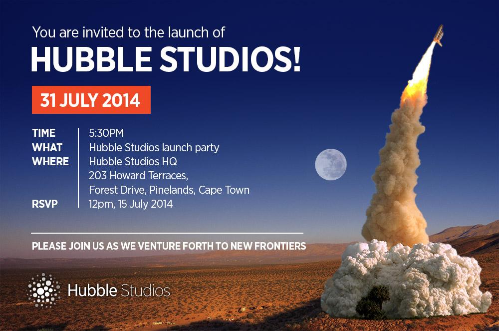 Hubble Studios_Invitation