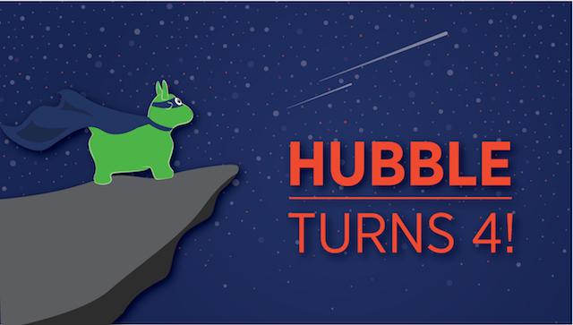 Hubble Studios turns four